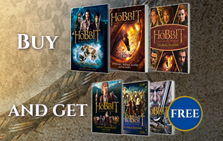 The Hobbit Movie Books: Exclusive Offer: Buy one get one free
